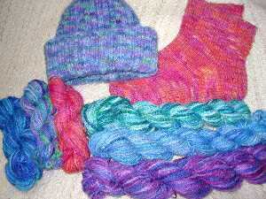 Mirowave Dyed Yarns