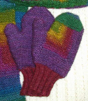 Free Knitting Patterns For Chunky Wool Mittens : FREE KNITTING PATTERN MITTENS CHUNKY WOOL   KNITTING PATTERN