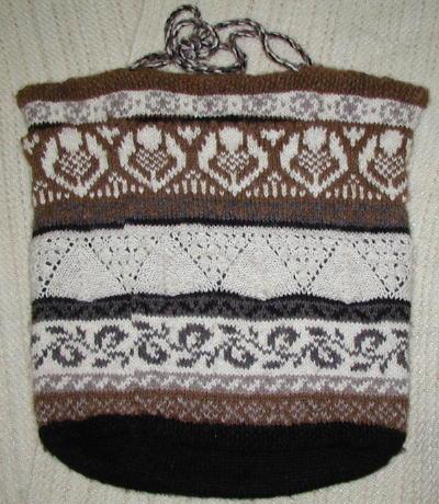 Shetland Knit Tote Bag